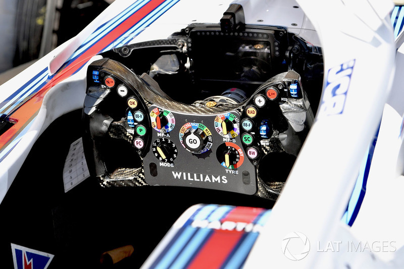 Williams FW41 steering wheel