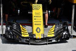 Renault Sport F1 Team R.S. 18 nariz y ala delantera