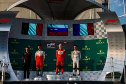 Podium : Leonardo Pulcini, Campos Racing, Nikita Mazepin, ART Grand Prix, Anthoine Hubert, ART Grand Prix