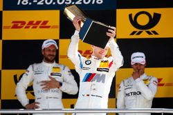 Podium: second place Marco Wittmann, BMW Team RMG