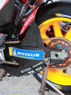 Marc Marquez, Repsol Honda Team, carbon fibre swingarm