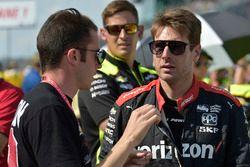 Will Power, Team Penske Chevrolet, James Davison, A.J. Foyt Enterprises con Byrd / Hollinger / Belardi Chevrolet