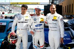 Top3 after qualifying: Pole position for Philipp Eng, BMW Team RBM, second place Pascal Wehrlein, Mercedes-AMG Team HWA, third place Gary Paffett Mercedes-AMG Team HWA