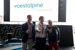 David Coulthard, British racing driver, TV Presenter, Alejandro Agag, CEO, Formula E, Dr Wolfgang Ed