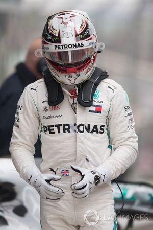 Lewis Hamilton, Mercedes-AMG F1 in parc ferme