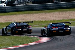 #14 MRS GT-Racing BMW M6 GT3: Christopher Zöchling, Jens Klingmann, #1 Callaway Competition Corvette C7 GT3-R: Marvin Kirchhöfer, Daniel Keilwitz