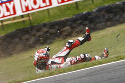 Takaaki Nakagami, Idemitsu Honda Team Asia crash