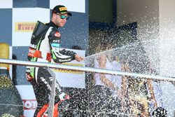 Podium: Jonathan Rea, Kawasaki Racing