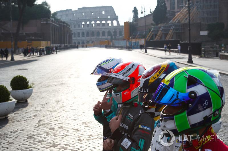 Лукас ди Грасси, Audi Sport ABT Schaeffler, Себастьен Буэми, Renault e.Dams, Нельсон Пике-мл., Jagua