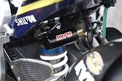 Xavi Vierge, Tech 3 Racing detail motor