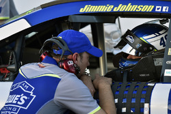 Jimmie Johnson, Hendrick Motorsports Chevrolet and Chad Knaus