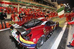 LMGTE Pro first place #71 AF Corse Ferrari 488 GTE: Davide Rigon, Sam Bird