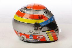 Helm von Ed Jones, Chip Ganassi Racing Honda