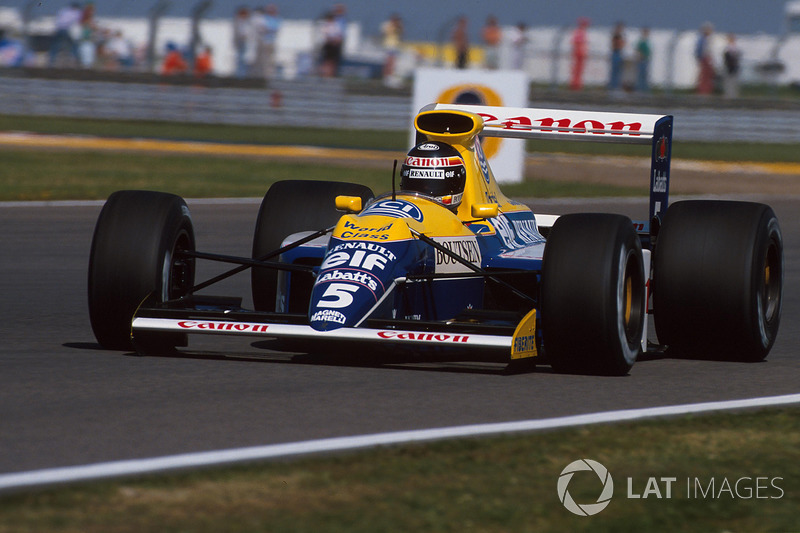 Thierry Boutsen, Williams-Renault FW13B, 1990