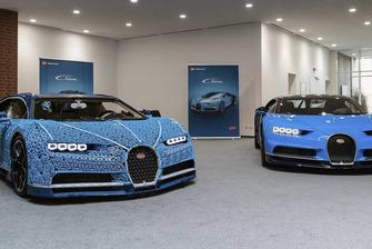 Bugatti Chiron en Lego Technic