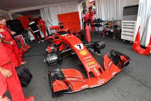 Le garage Ferrari