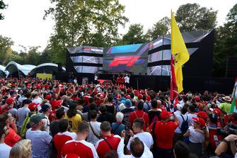 Fans en Fan Zone