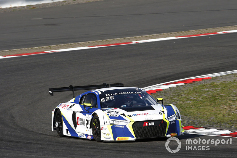 #25 Sainteloc Racing Audi R8 LMS: Simon Gachet, Christopher Haase