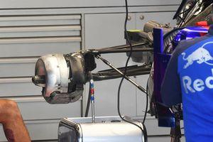 Eje trasero del Scuderia Toro Rosso STR13