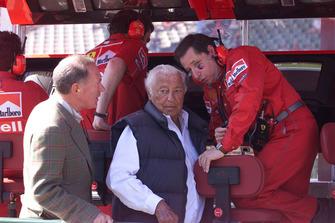 Руководитель команды Ferrari Жан Тодт и Джанни Аньелли