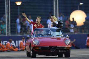 Sebastian Vettel, Ferrari pilotlar geçit töreninde