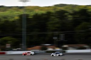 Chase Elliott, GMS Racing, Chevrolet Camaro GMS Fabrication and Cole Custer, Stewart-Haas Racing, Ford Mustang Haas Automation