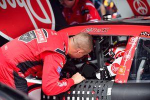Ryan Preece, Joe Gibbs Racing, Toyota Camry Craftsman, Christopher Bell, Joe Gibbs Racing, Toyota Camry Rheem