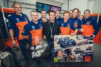 Randy de Puniet, KTM Factory Racing