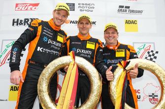 #444 Porsche Cayman: Christian Konnerth, Daniel Zils, Norbert Fischer