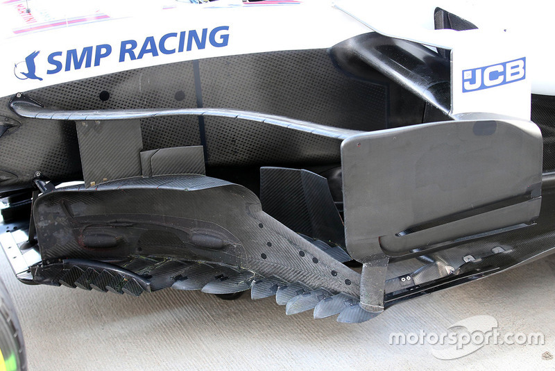 Bargeboard del Williams FW41