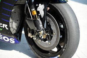 Une moto de Yamaha Factory Racing