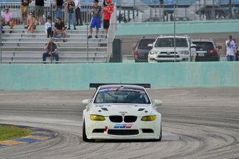 #76 MP1B BMW driven by David Tuaty and James Hamman of TLM Racing