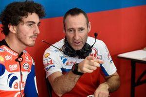 Francesco Bagnaia, Pramac Racing, mit Cristian Gabarrini