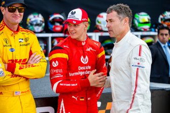 Ryan Hunter-Reay, Mick Schumacher, Tom Kristensen