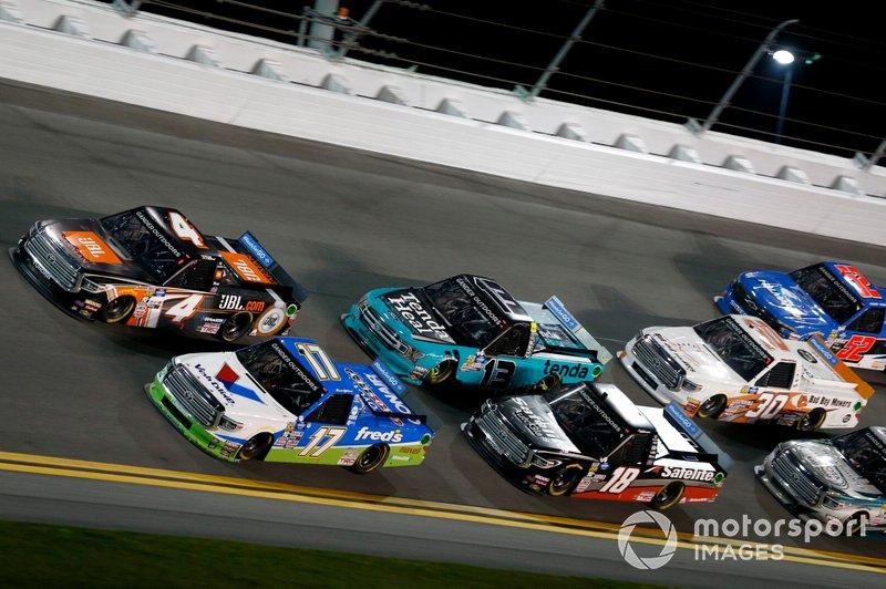David Gilliland, DGR-Crosley, Toyota Tundra fred's, Todd Gilliland, Kyle Busch Motorsports, Toyota Tundra JBL