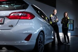 Jindřiška Žáková ed Erik Cais, Orsak Rally Sport, Ford Fiesta R2