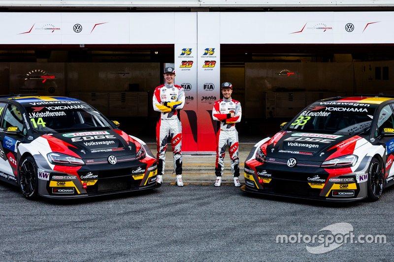 Команда SLR Volkswagen (Франция): Йохан Кристофферсон, Беньямин Лойхтер