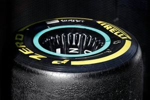 Mercedes-AMG F1 wheel rims and Pirelli tyres