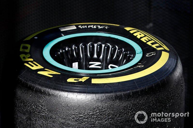 Llantas de Mercedes-AMG F1