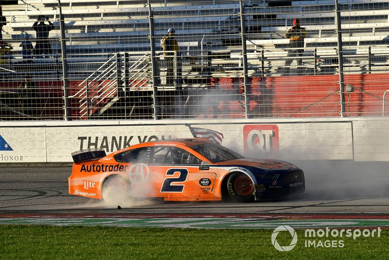 1. Brad Keselowski, Team Penske, Ford Mustang Autotrader