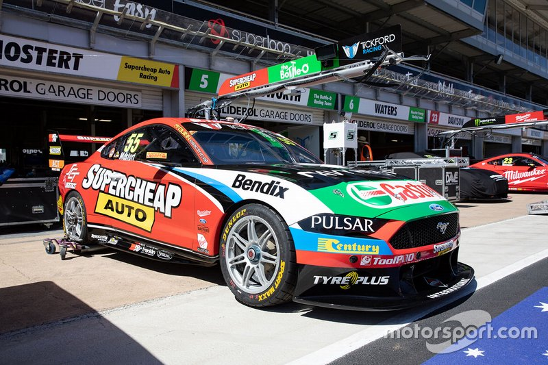 Car of Chaz Mostert, Tickford Racing Ford