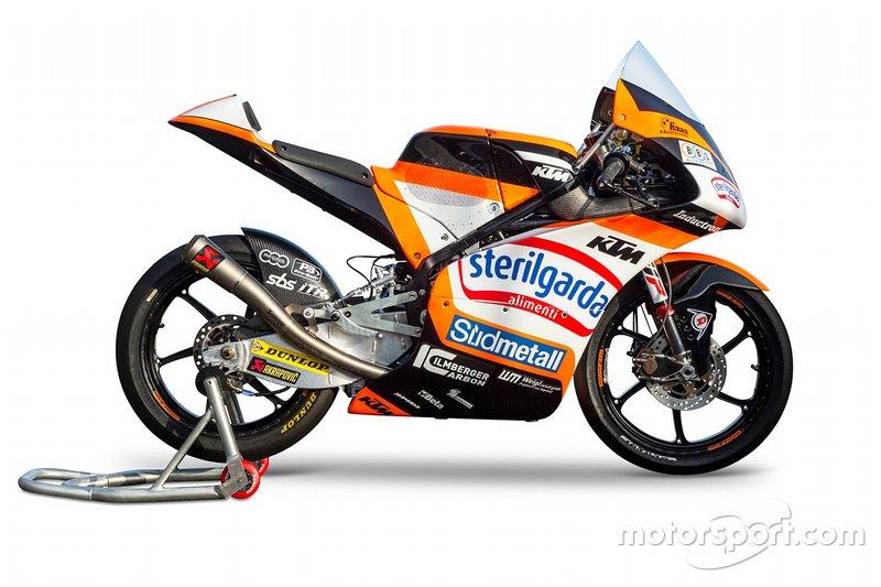 La moto di Aron Canet, Max Racing Team