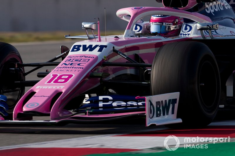 Lance Stroll, da Racing Point (antiga Force India), foi o terceiro