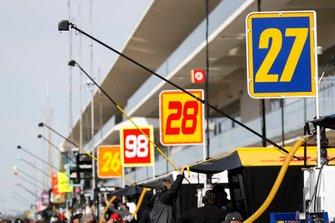 Alexander Rossi, Andretti Autosport Honda, Ryan Hunter-Reay, Andretti Autosport Honda, Marco Andretti, Andretti Herta Autosport w/ Curb-Agajanian Honda, Zach Veach, Andretti Autosport Honda