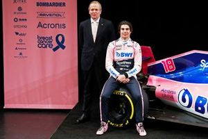Andrew Green, Racing Point F1 Team Technical Director and Lance Stroll, Racing Point F1 Team