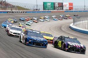 Jimmie Johnson, Hendrick Motorsports, Chevrolet Camaro Ally, Chase Elliott, Hendrick Motorsports, Chevrolet Camaro Kelley Blue Book
