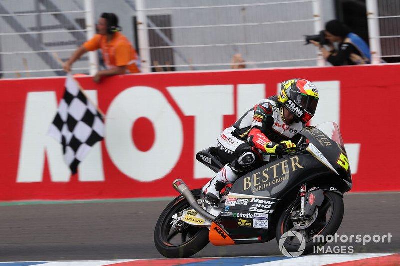 Ganador de la carrera Jaume Masia, Bester Capital Dubai