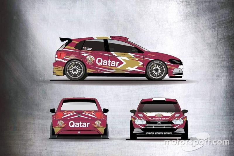 سيارة ناصر العطية لموسم 2019 - فولكسفاغن بولو آر5