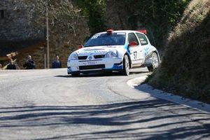 Sergio Pinto, Sarah Buchard, Renault Clio S1600, Chablais Racing Team