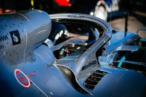 Mercedes AMG F1 W10, dettaglio dell' halo